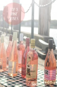 Top 9 Rosé Wines of the Summer!