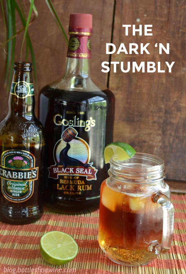 Dark 'n' Stormy too WEAK? Make a Dark 'n Stumbly! | Drink | A ...