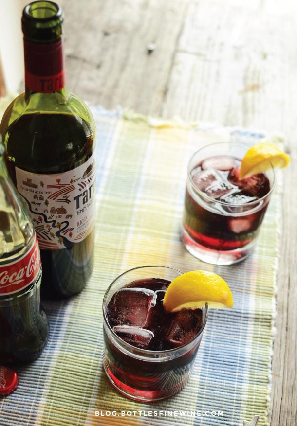 Kalimotxo - Red Wine and Coca-Cola - Drink Recipe