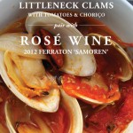 Rosé Wine Pairing with Littleneck Clams