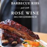 Rosé Wine Pairing with Peach Barbecue Ribs