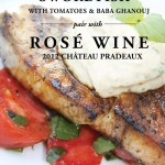 Grilled Swordfish Recipe Paired with Rosé Wine