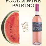 Watermelon Pairs with Rosé Wine: Le Caprice de Clémentine