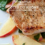 Cast Iron Pork Chops & Apples Recipe with a White Wine Pairing