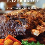 Prime Rib Roast Recipe and Red Wine Pairing