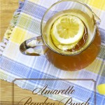 Amaretto Bourbon Punch