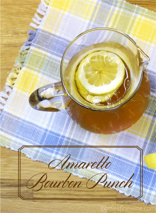 Amaretto Bourbon Punch Recipe