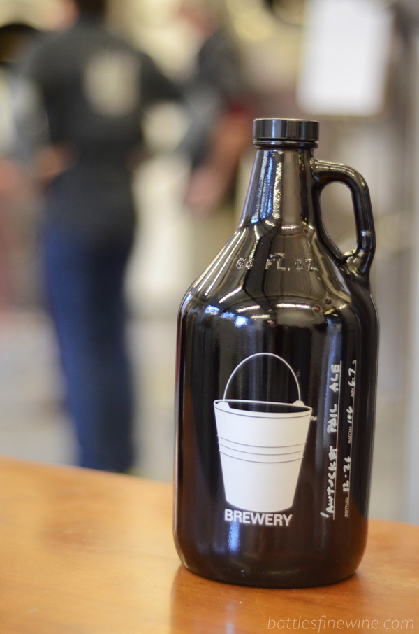 Bucket Brewery Growlers