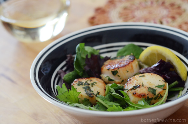 Scallops and Wine Pairing