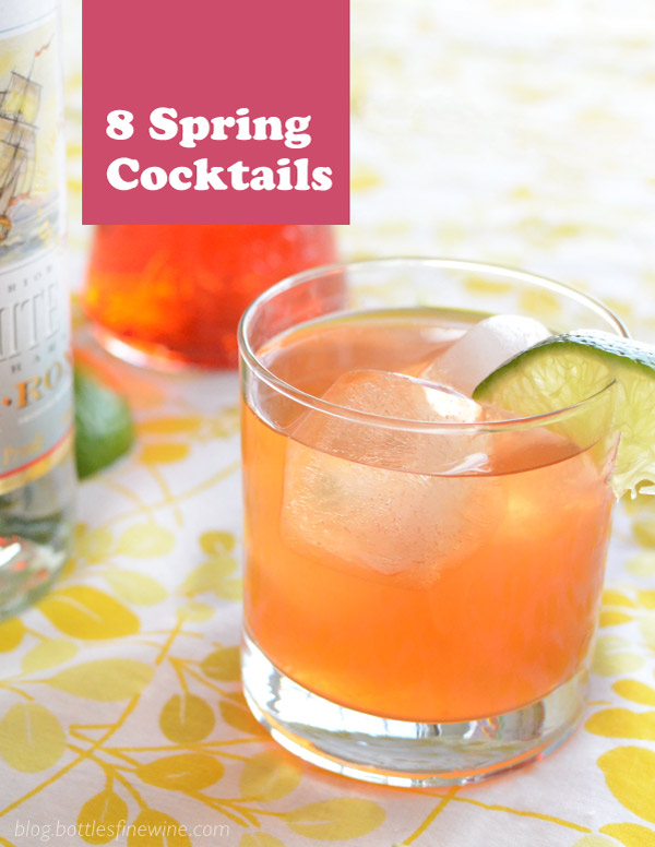 Spring Cocktail Recipe Ideas