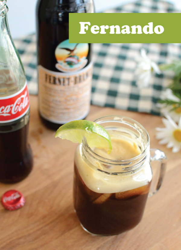 Fernet and Coke cocktail recipe