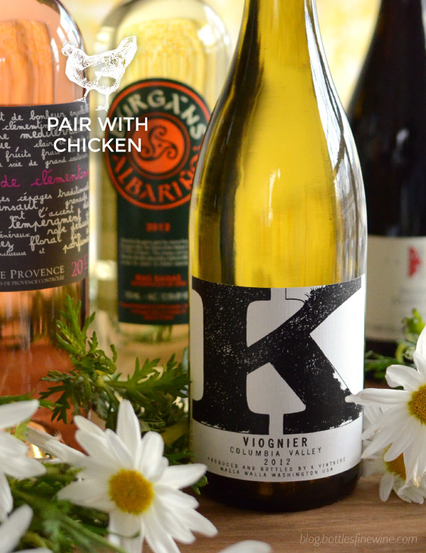 White wine for chicken dishes