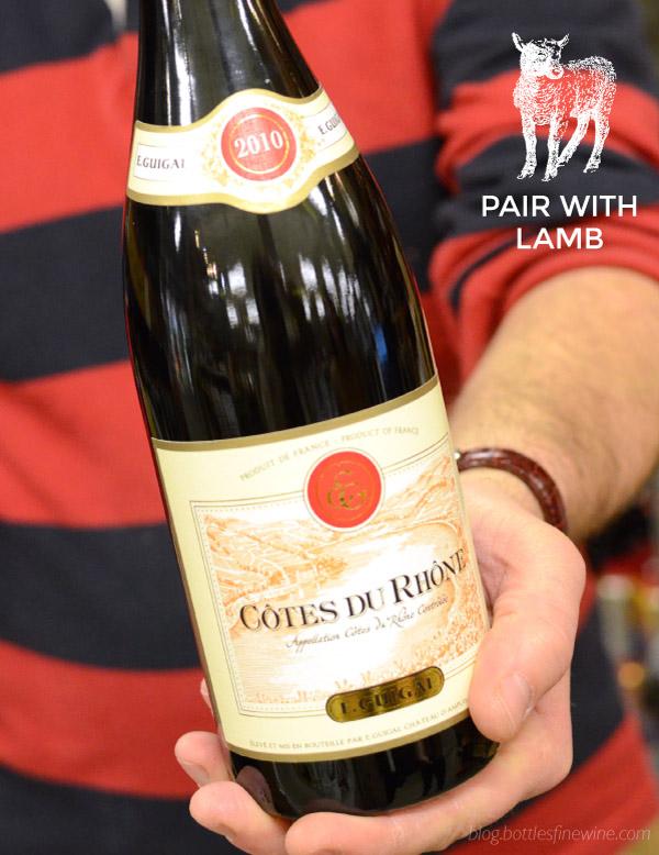 Lamb Wine Pairing