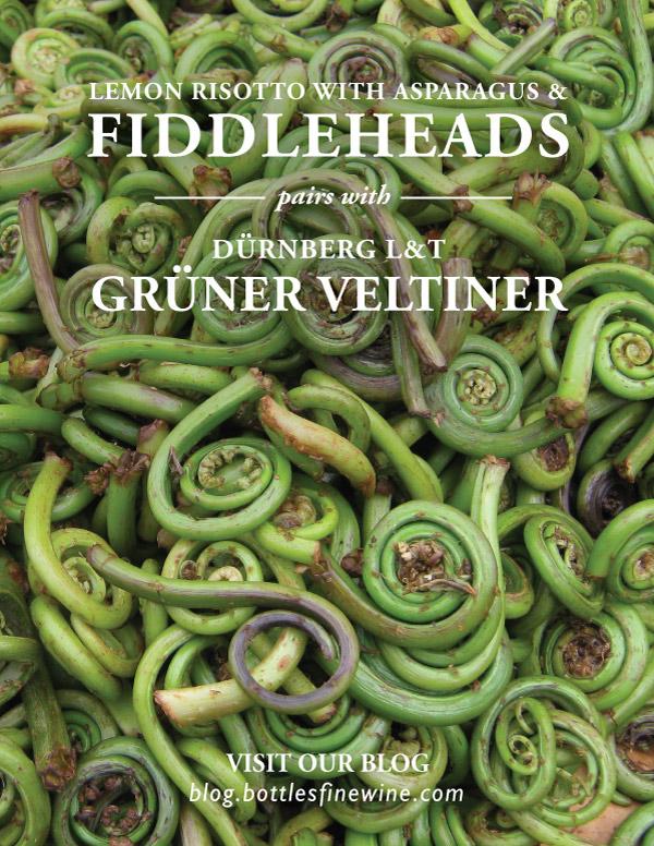 Fiddleheads wine pairing