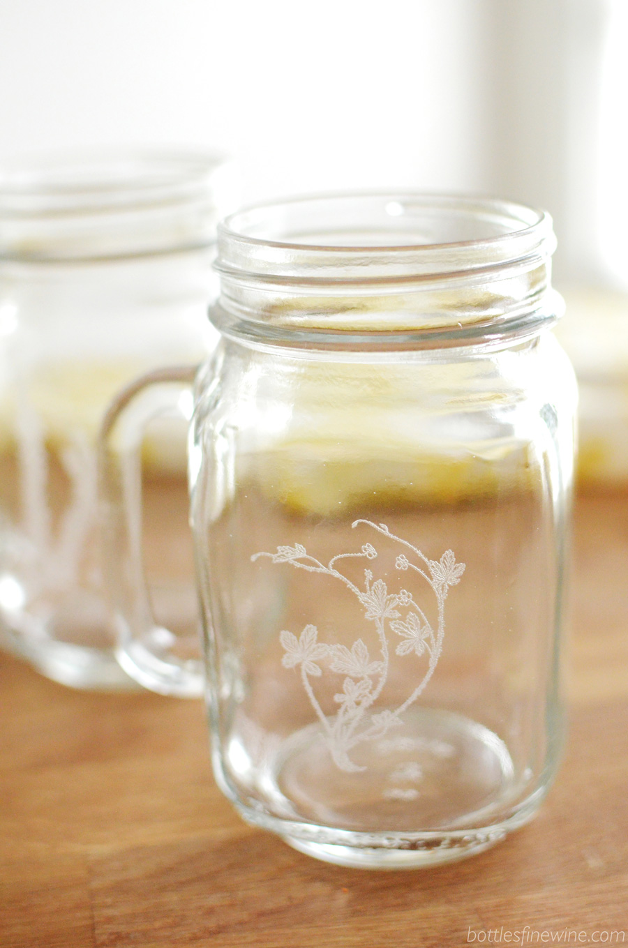 custom engraved mason jar