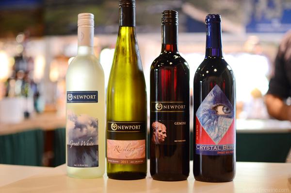 Newport Vineyards - Rhode Island wine