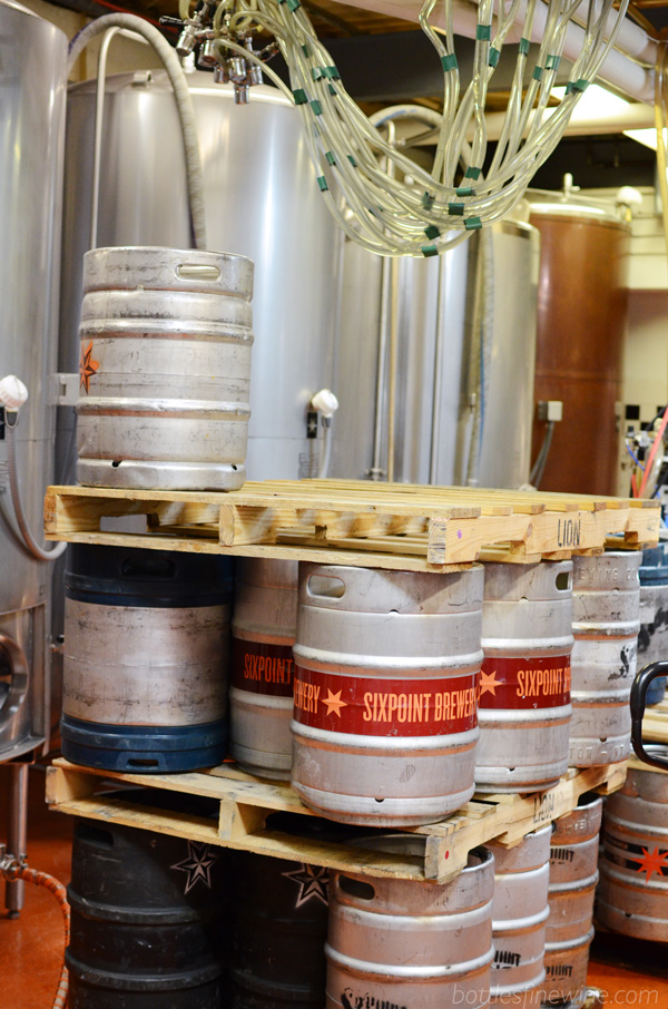 Sixpoint Brewery in Brooklyn