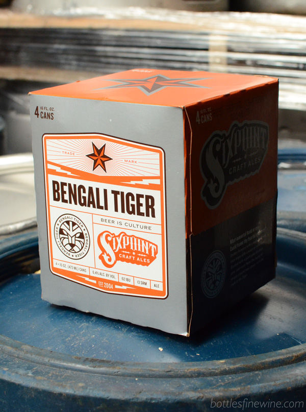 Bengali Tiger - beer by Sixpoint