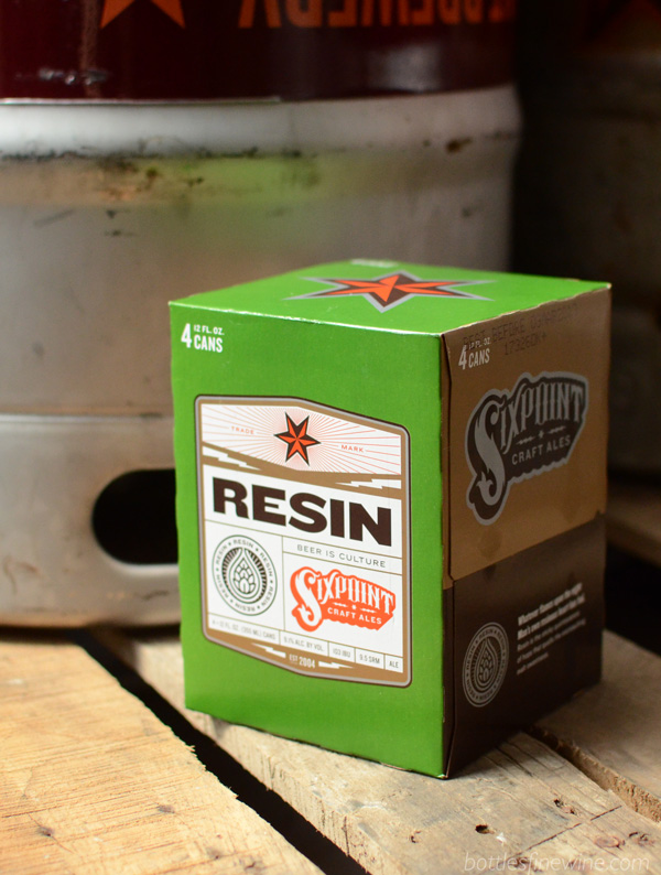 Resin - beer by Sixpoint Brewery
