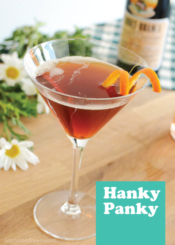 Hanky Panky Cocktail Recipe