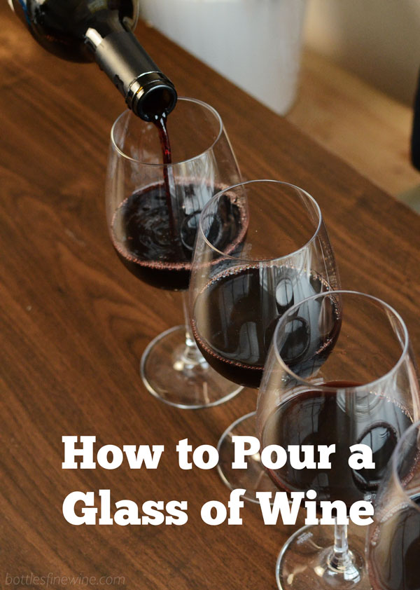 How to Pour a Glass of Wine - Video