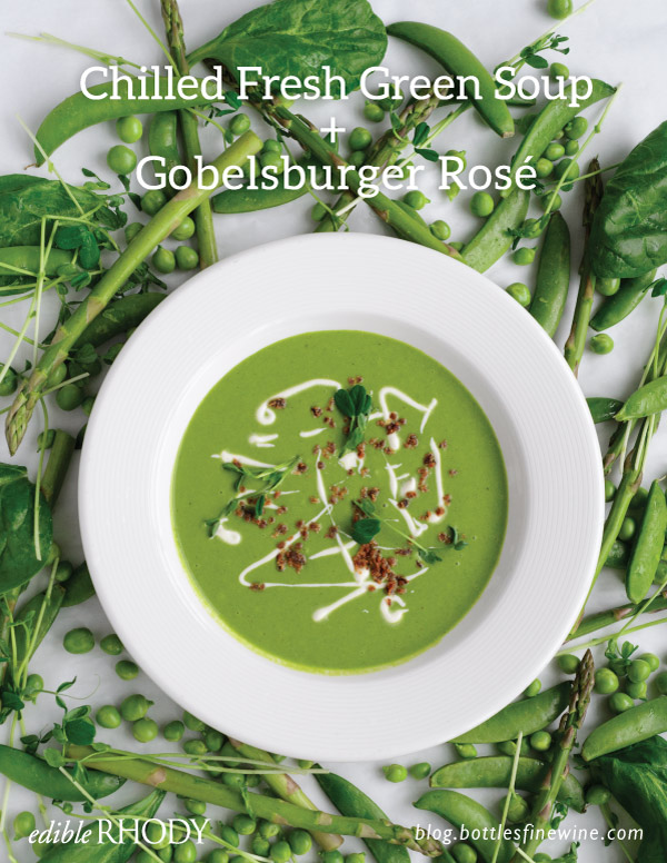 Chilled Fresh Green Soup