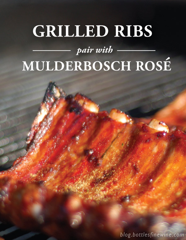 Grilled Ribs Recipe and Wine Pairing