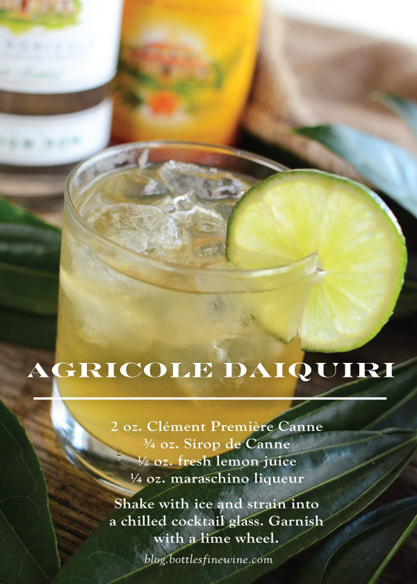 Agricol Daiquiri Cocktail Recipe