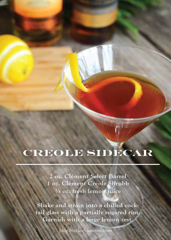 Creole Sidecar - Rum Cocktail Recipe