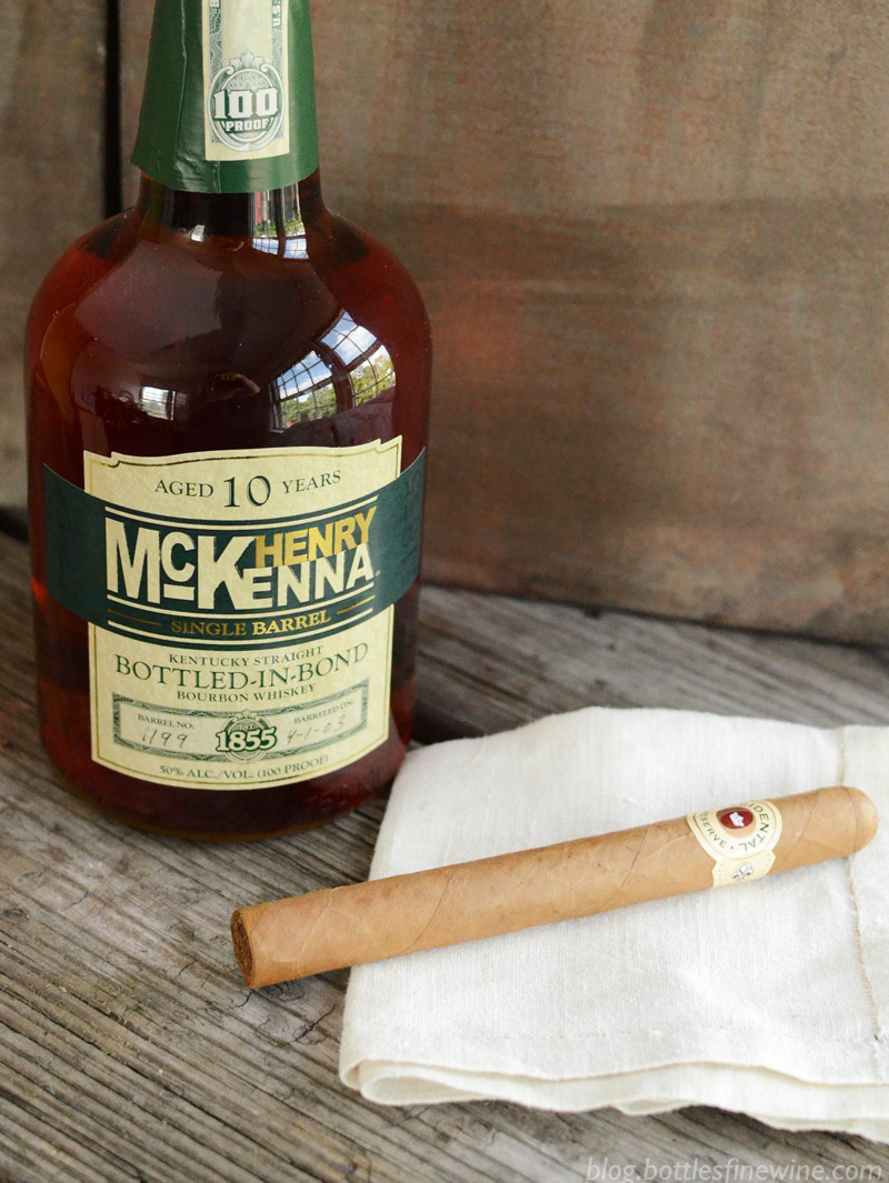 Cigar and Bourbon Pairing - Occidental Reserve and Henry McKenna
