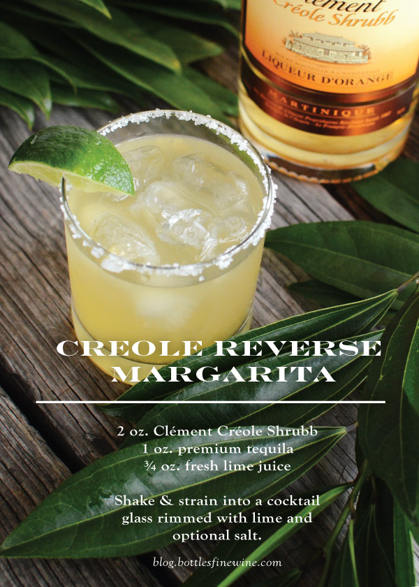 Creole Reverse Margarita - Easy Rum Cocktail Recipe