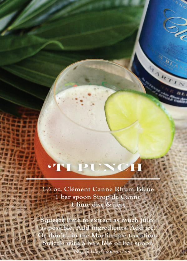 Ti Punch - Rum Drink Recipe and Ingredients