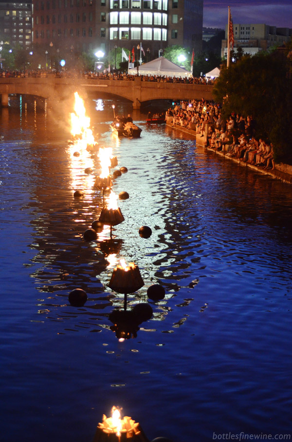 WaterFire Providence 2014