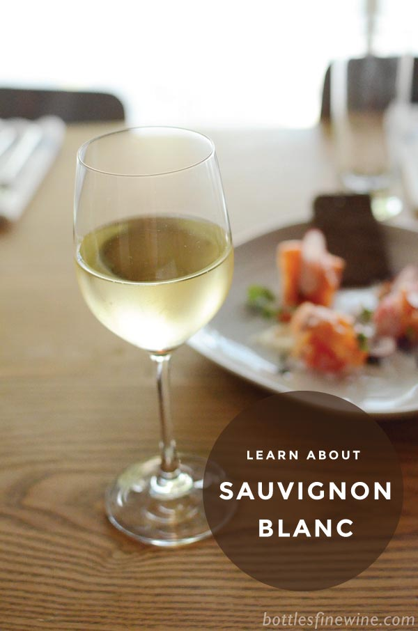 White Wine Guide - Learn about Sauvignon Blanc styles