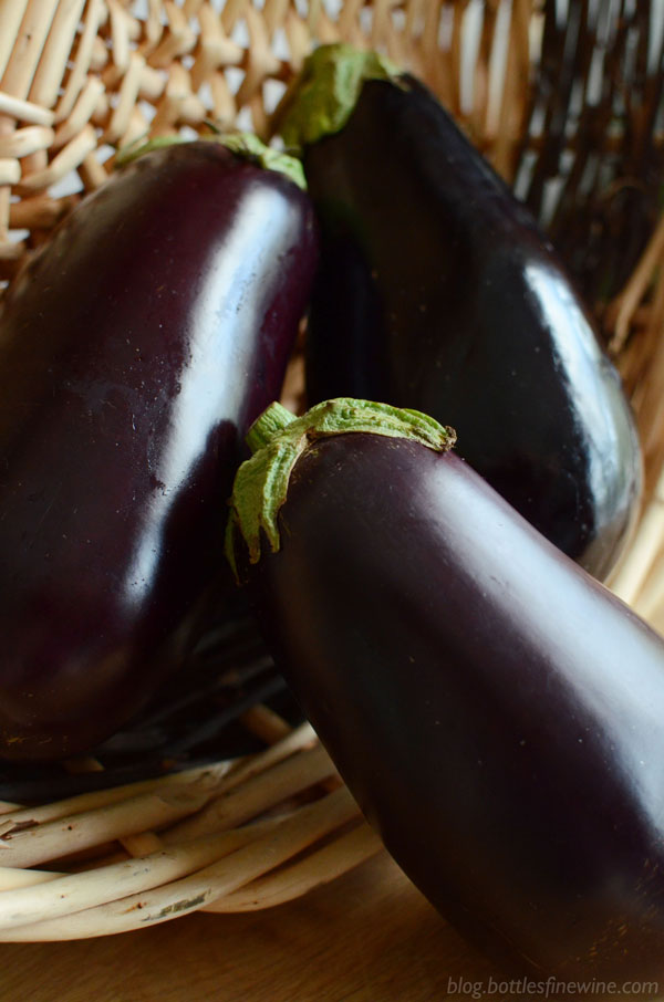 Stuffed Eggplant Recipe & Wine Pairing Idea