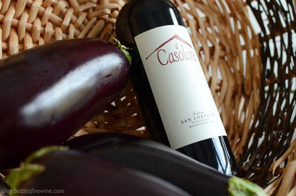 Il Casolare Rosso - Red Wine & Eggplant Pairing