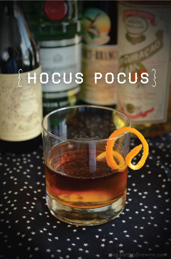 Hocus Pocus - Halloween Cocktail Recipe Idea