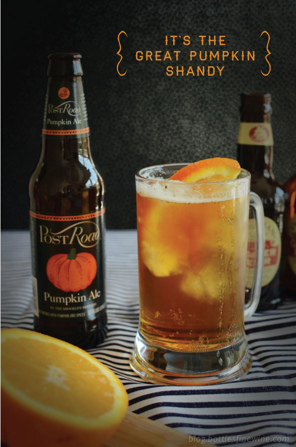 Pumpkin Shandy Recipe - Halloween Cocktail Ideas