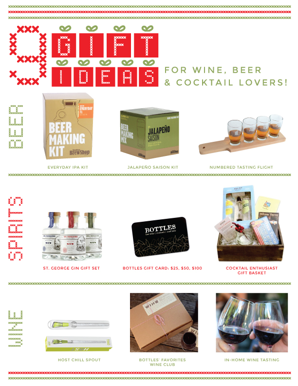 Wine, Beer, Spirit Gift Ideas