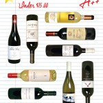 9 Overachiever Wines Under $15 and Pairings!