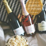 Champagne and Popcorn – Just in time for Oscar Night