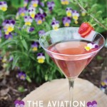 Aviation Cocktail Recipe with DIY Violet Syrup (Guest Post by Parcel Apothecary)