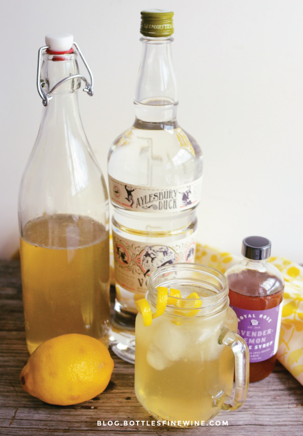 Maine Cooler - Royal Rose Lavender Lemon Syrup
