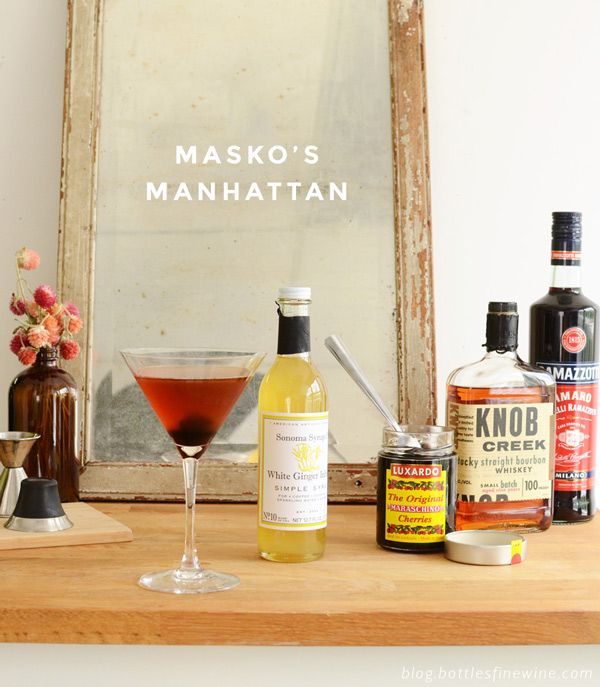 Masko's Manhattan - Cocktail Recipe