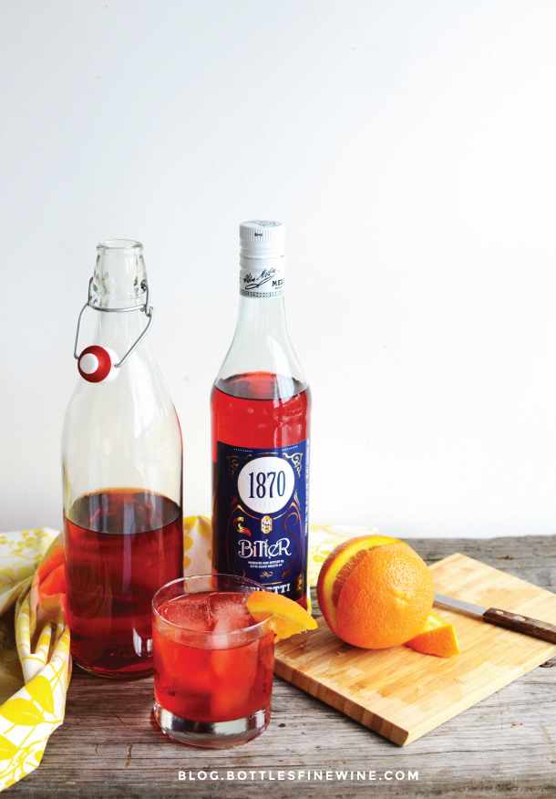 Negroni Cocktail Recipe with Melletti 1870