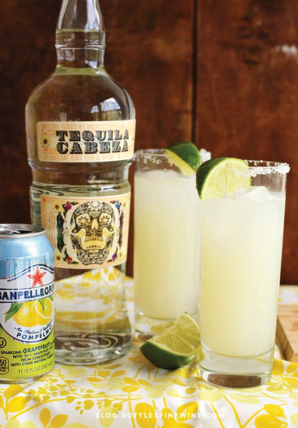 Paloma Drink Recipe - Tequila Cabeza
