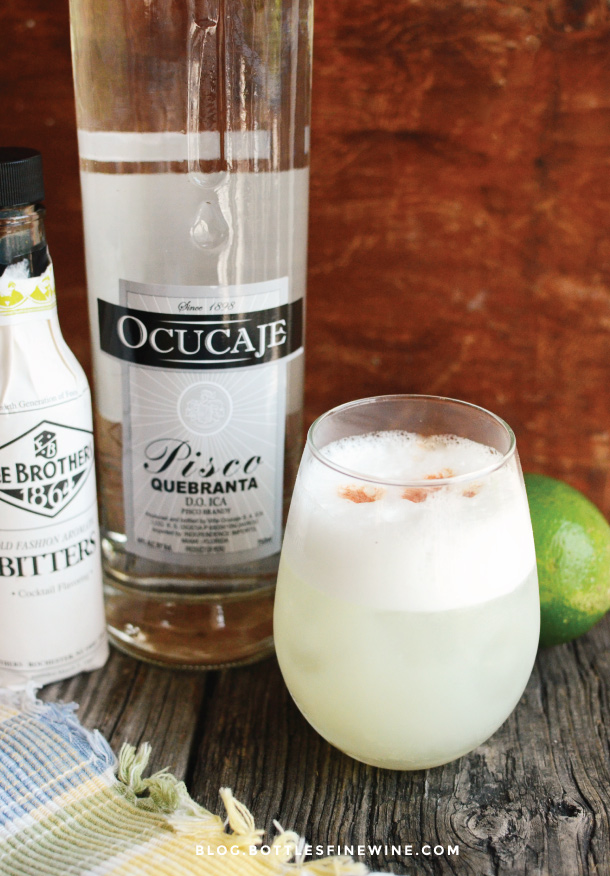 Pisco Sour drink recipe