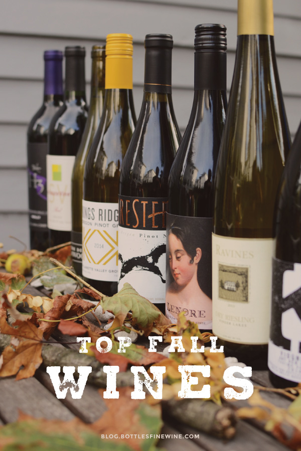 Top Fall Red & White Wines