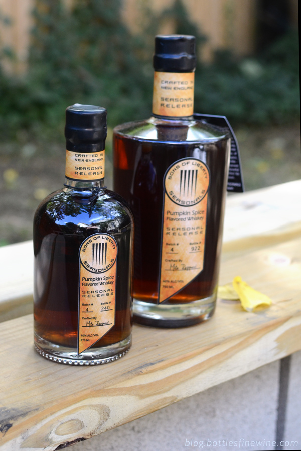 Pumpkin Spice Whiskey by Sons of Liberty Spirits Distillery