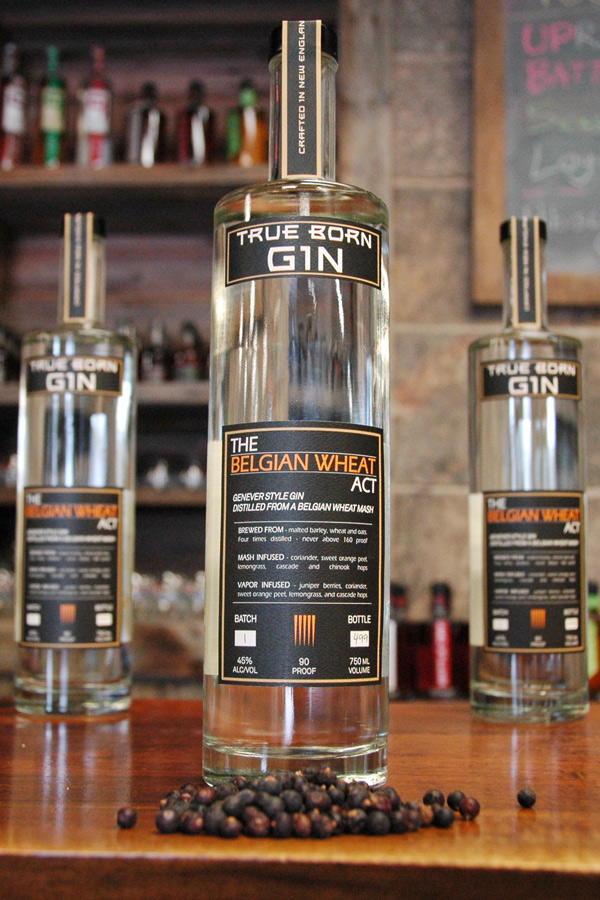 True Born Gin - The Belgian Wheat Act - Sons of Liberty